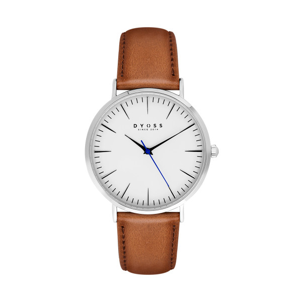 Iconic White - Tan Leather - 40mm | upweb_gocchinh_12
