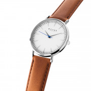 Iconic White - Tan Leather - 40mm | upweb_gocnghieng_12