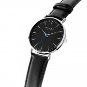 Iconic Black - Black Leather - 40mm | upweb_gocnghieng_15